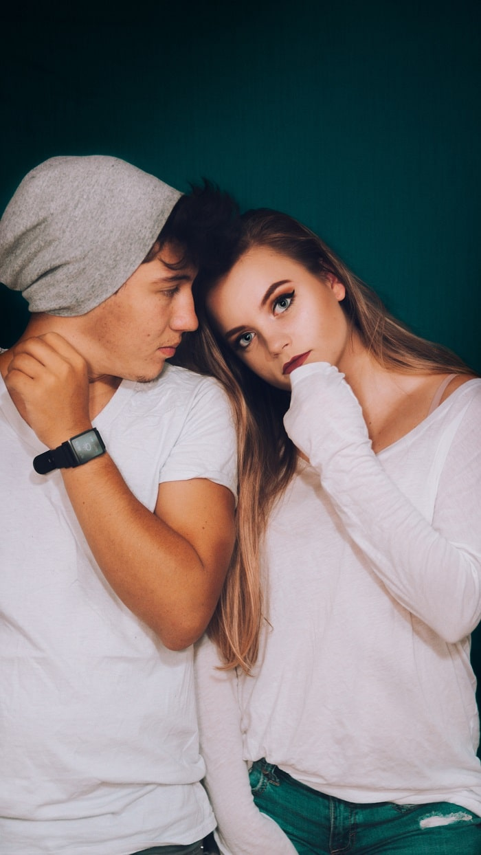 alpha male with girl