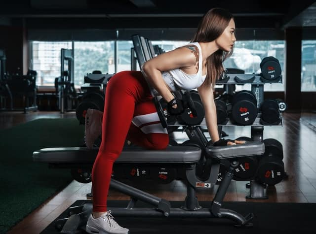even women that go to the gym like muscular men