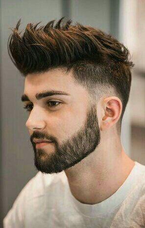 stylish masculine haircut