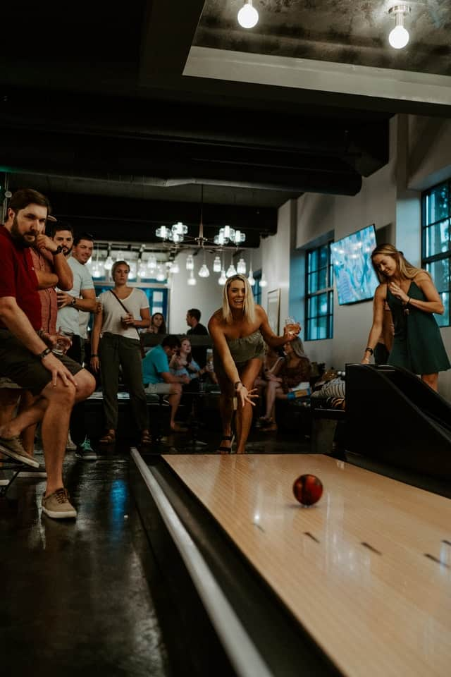 telling your man that you've always wanted to go bowling is a great way to end up with a date