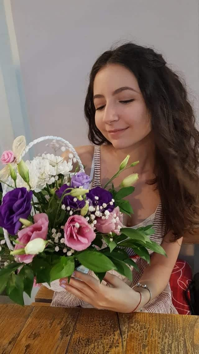 Giving another girl a gift like flowers can easily make your main girl jealous enough to want to be your girlfriend