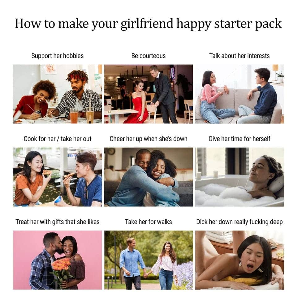 how to make your girlfriend happy examples and list