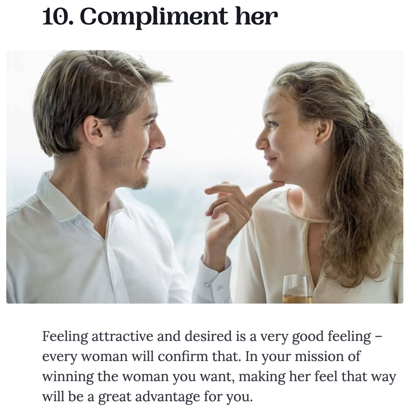 Example of bad dating advice